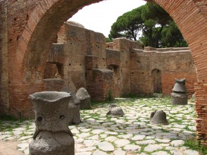 The Ancient mills in Ostia