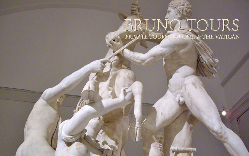 The Farnese Bull Sculpture Group