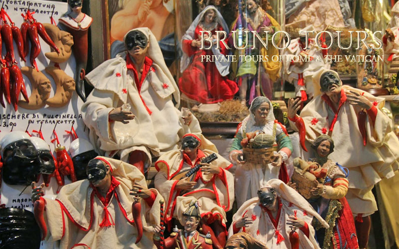 Marionnettes and Xmas Figurines Market of San Gregorio Armeno